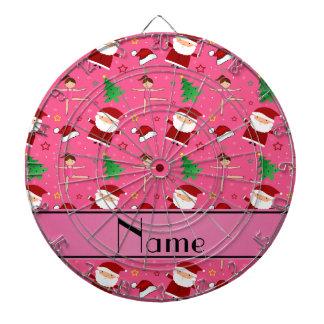 Gimnasia rosada conocida de encargo santas del tablero de dardos