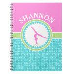Gimnasia Tri En colores pastel del color con la Cuadernos