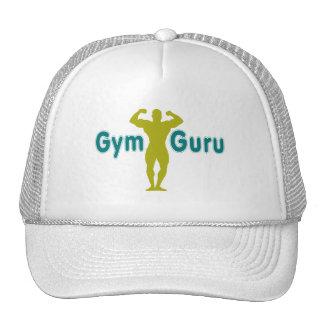Gimnasio Guru - estilo del multicolor del diseño Gorras