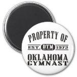 Gimnasta de Oklahoma Imanes De Nevera