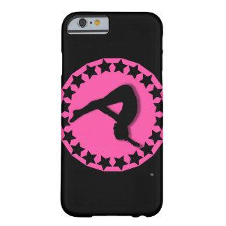 Gimnasta en rosa funda de iPhone 6 barely there