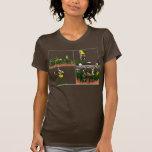 Gimnasta V3-DKT Camisetas