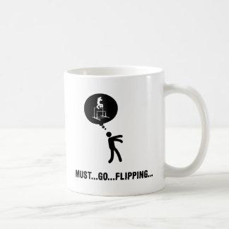 Gimnástico - barras desiguales taza de café