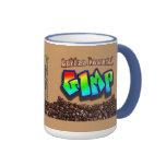 Gimp accionado café taza