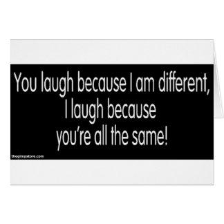 gimp humor card