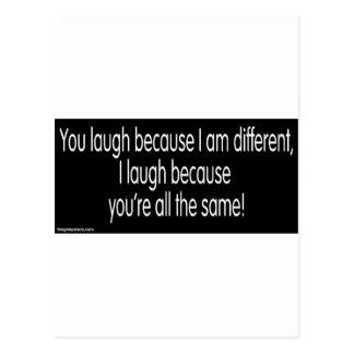 gimp humor postcard
