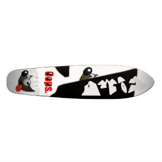 Gimp-ized Old-Skool Skateboard