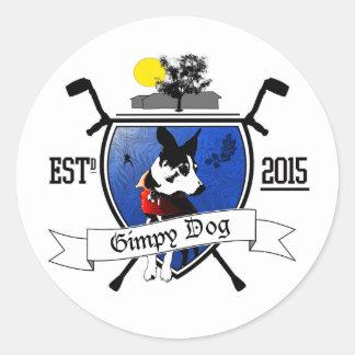 Gimpy Dog Ranch Crest Stickers