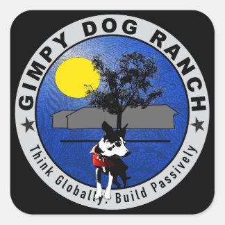 Gimpy Dog Ranch Logo Stickers