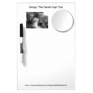 Gimpy Dry Erase Board with Mirror