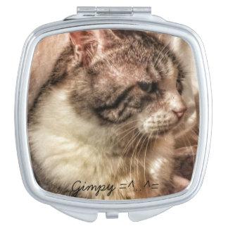 Gimpy Square Compact Mirror