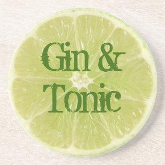 Gin and tonic coaster