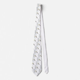 GIN LOVERS SHOPPING LIST NECK TIE
