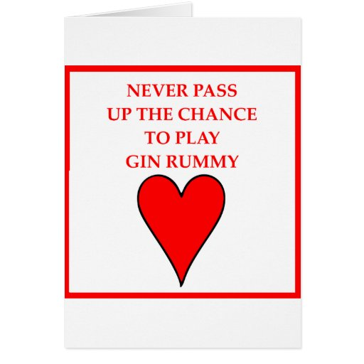 gin rummy cards