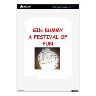 gin rummy decal for iPad 3