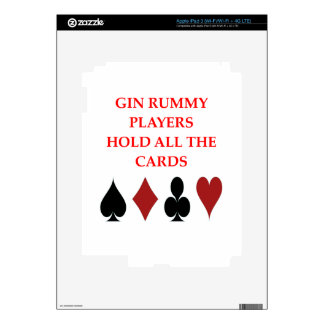 gin rummy decals for iPad 3
