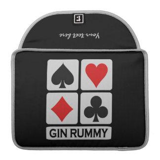 Gin Rummy Player custom MacBook sleeve Sleeves For MacBooks