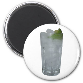 Gin Tonic 2 Inch Round Magnet