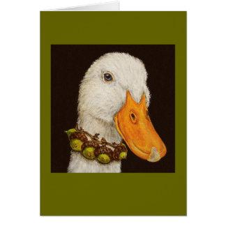 Gina the duck card