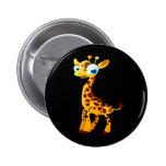 Gina The Giraffe Button