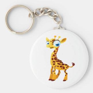 Gina The Giraffe Keychain