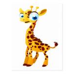 Gina The Giraffe Postcard
