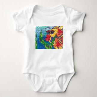 Gina the Goldfish Baby Bodysuit