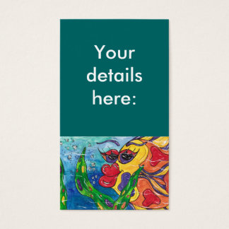 Gina the Goldfish Business Cards