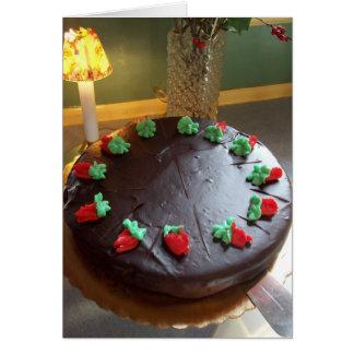 Gina's Cake Card