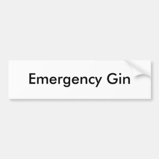 Ginebra de la emergencia pegatina para auto