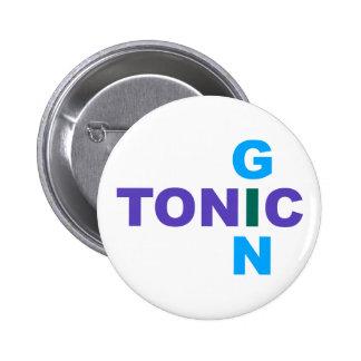 Ginebra tónico Longdrink cocktail Pin Redondo 5 Cm