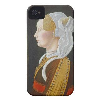 Ginevra Bentivoglio, C. 1474 - 77 iPhone 4 Case-Mate Carcasas