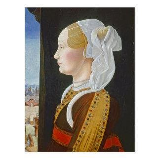 Ginevra Bentivoglio, c. 1474- 77 Postcard