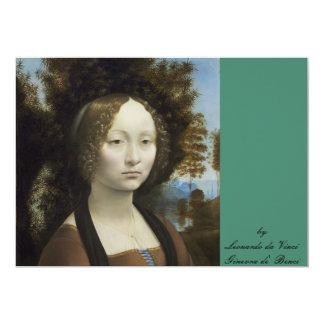 Ginevra de' Benci   by  Leonardo da Vinci Card