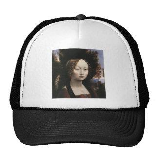 Ginevra de' Benci by Leonardo Da Vinci Trucker Hat