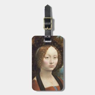 Ginevra de' Benci, c. 1474- 78 Luggage Tag