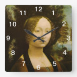 Ginevra de Benci Leonardo da Vinci Clocks