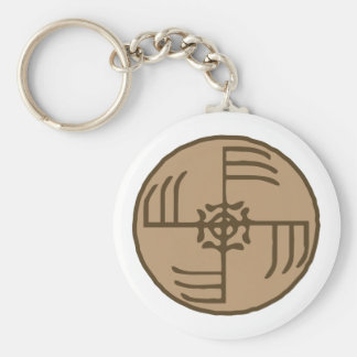 Ginfaxi Stave Sigil Keychain