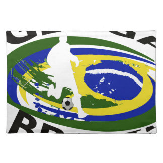 Ginga Big logo transparent Cloth Placemat