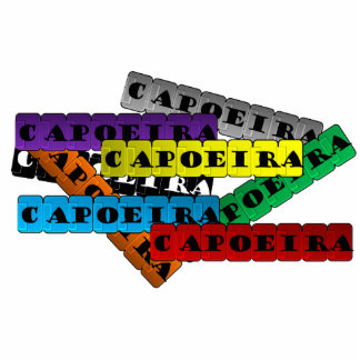 ginga del hacha del capoeira de los artes marciale escultura fotográfica