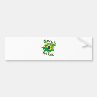 Ginga Flag Bumper Sticker