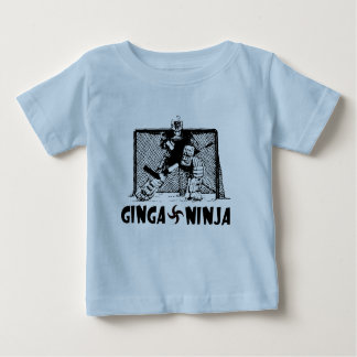 Ginga Ninja - Hockey Goalie Baby T-Shirt
