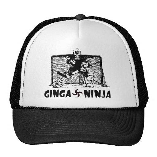 Ginga Ninja - Hockey Goalie Mesh Hat