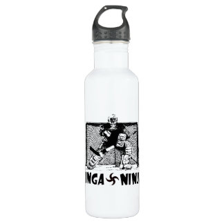 Ginga Ninja - Hockey Goalie Water Bottle