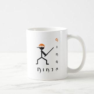 Ginga Ninja Basic White Mug