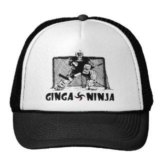 Ginga Ninja - portero del hockey Gorras