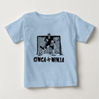 Ginga Ninja - portero del hockey Poleras