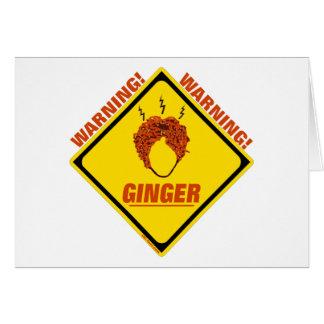 Ginger Alert! Card