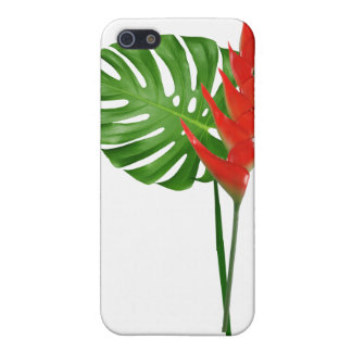 Ginger and Monstera Bouquet Cover For iPhone SE/5/5s