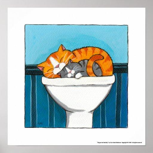 Ginger bathroom